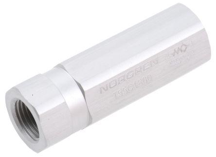 Norgren T55 Non Return Valve G 1/8 Female Inlet, G 1/8 Female Outlet, 0.1 → 10bar