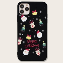 Christmas Letter Graphic iPhone Case