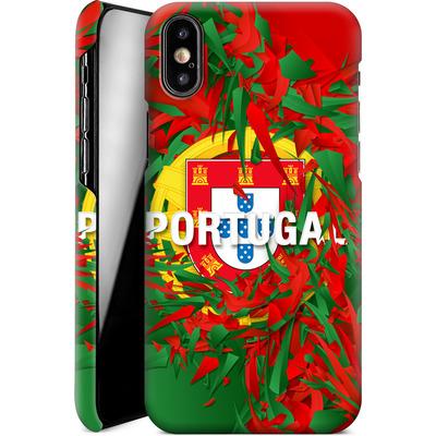 Apple iPhone XS Smartphone Huelle - Colorful Portugal von Danny Ivan