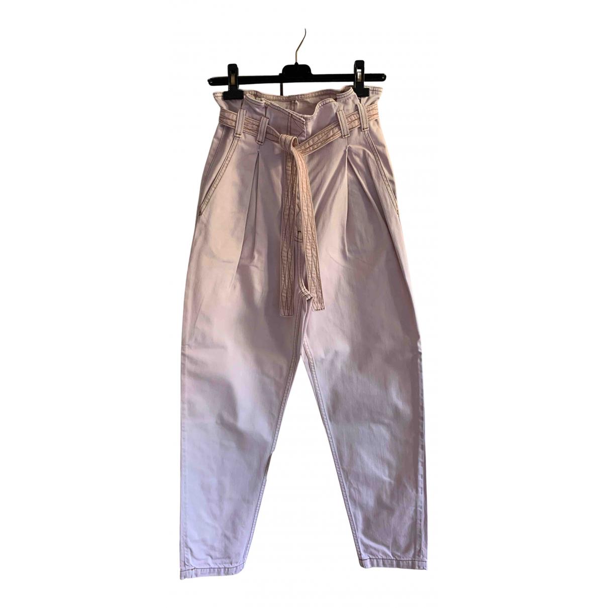 & Stories N Pink Denim - Jeans Jeans for Women 36 FR