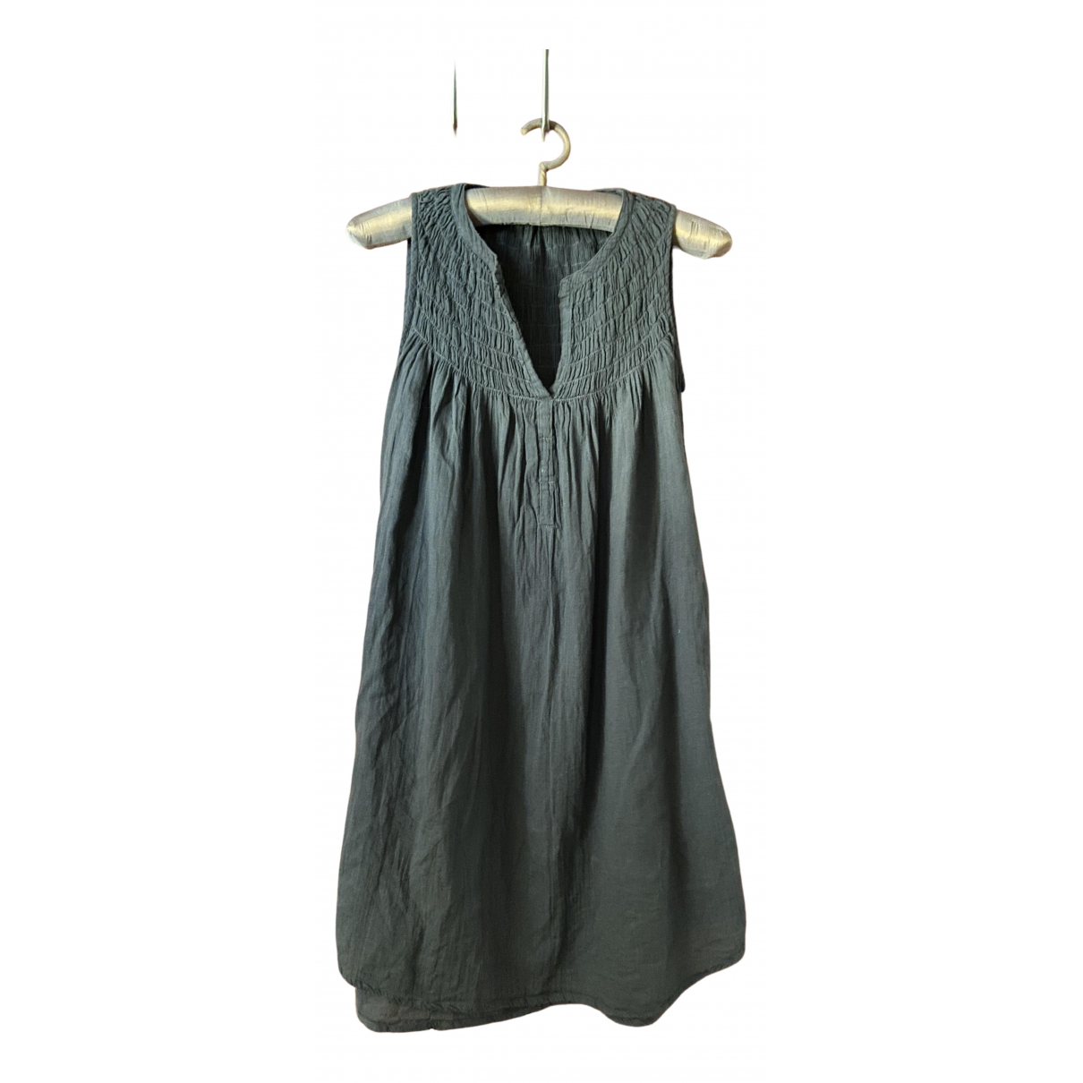 Rabens Saloner \N Kleid in  Grau Baumwolle