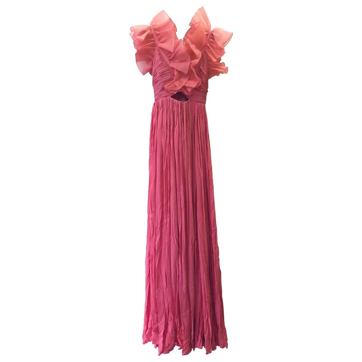 Maxi vestido de Seda Giambattista Valli X H&m