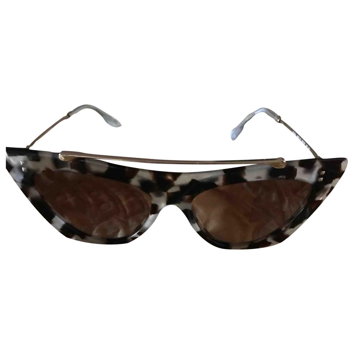 Valentino Garavani \N White Sunglasses for Women \N