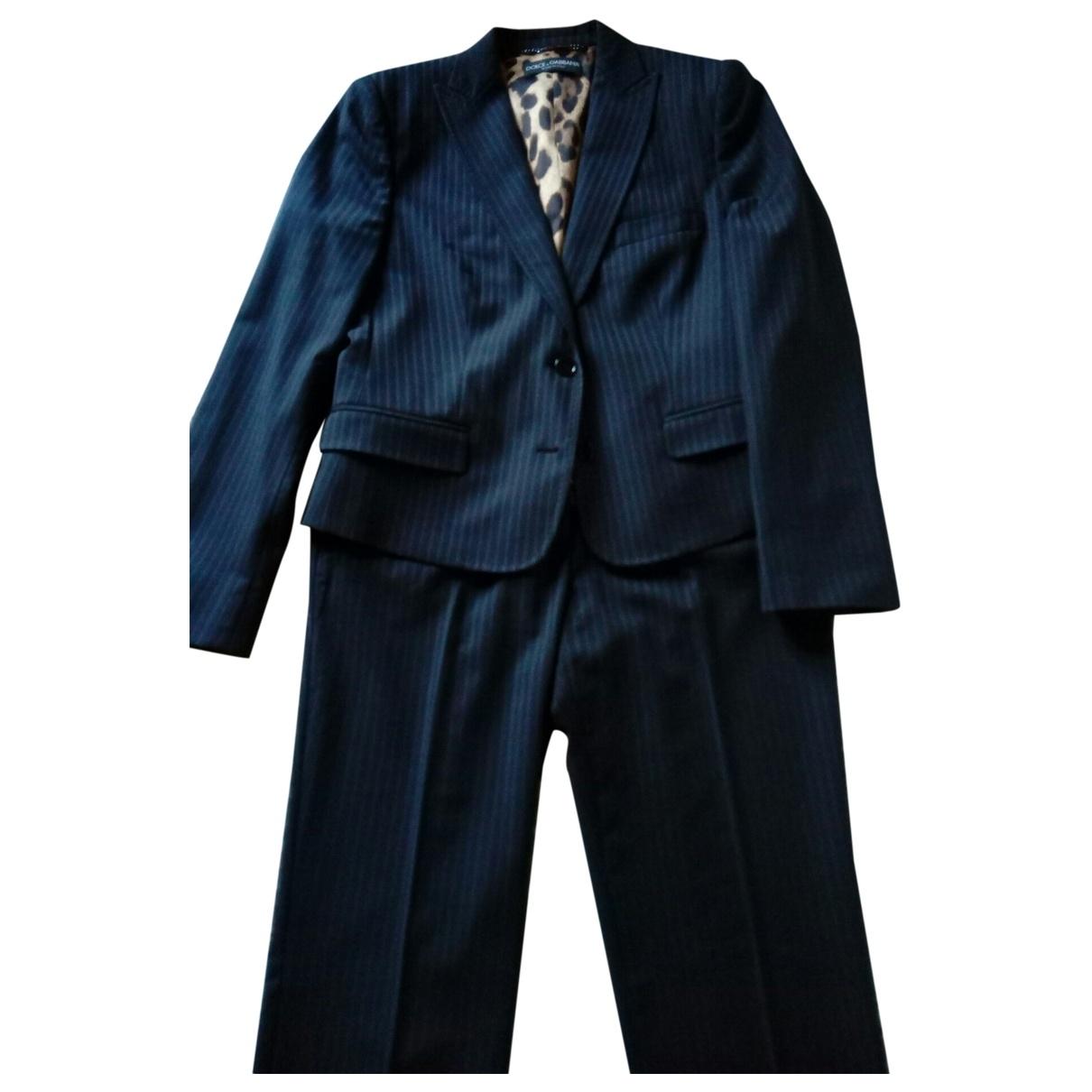 Dolce & Gabbana \N Navy jacket for Women 44 IT