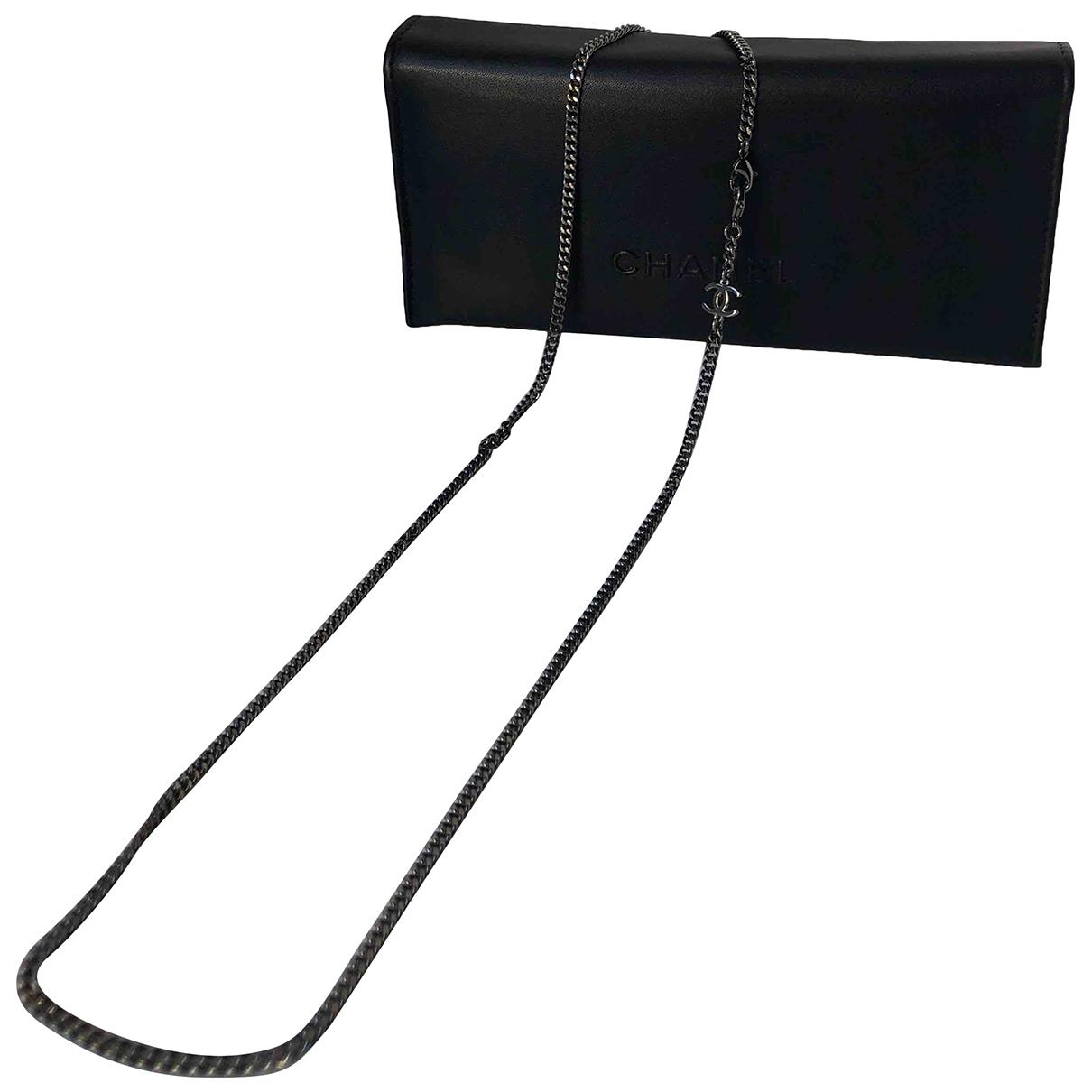 Chanel - Collier CC pour femme en metal - metallise