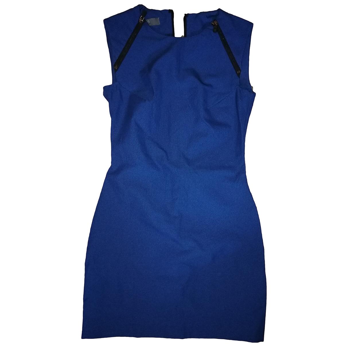 Mcq \N Kleid in  Blau Synthetik
