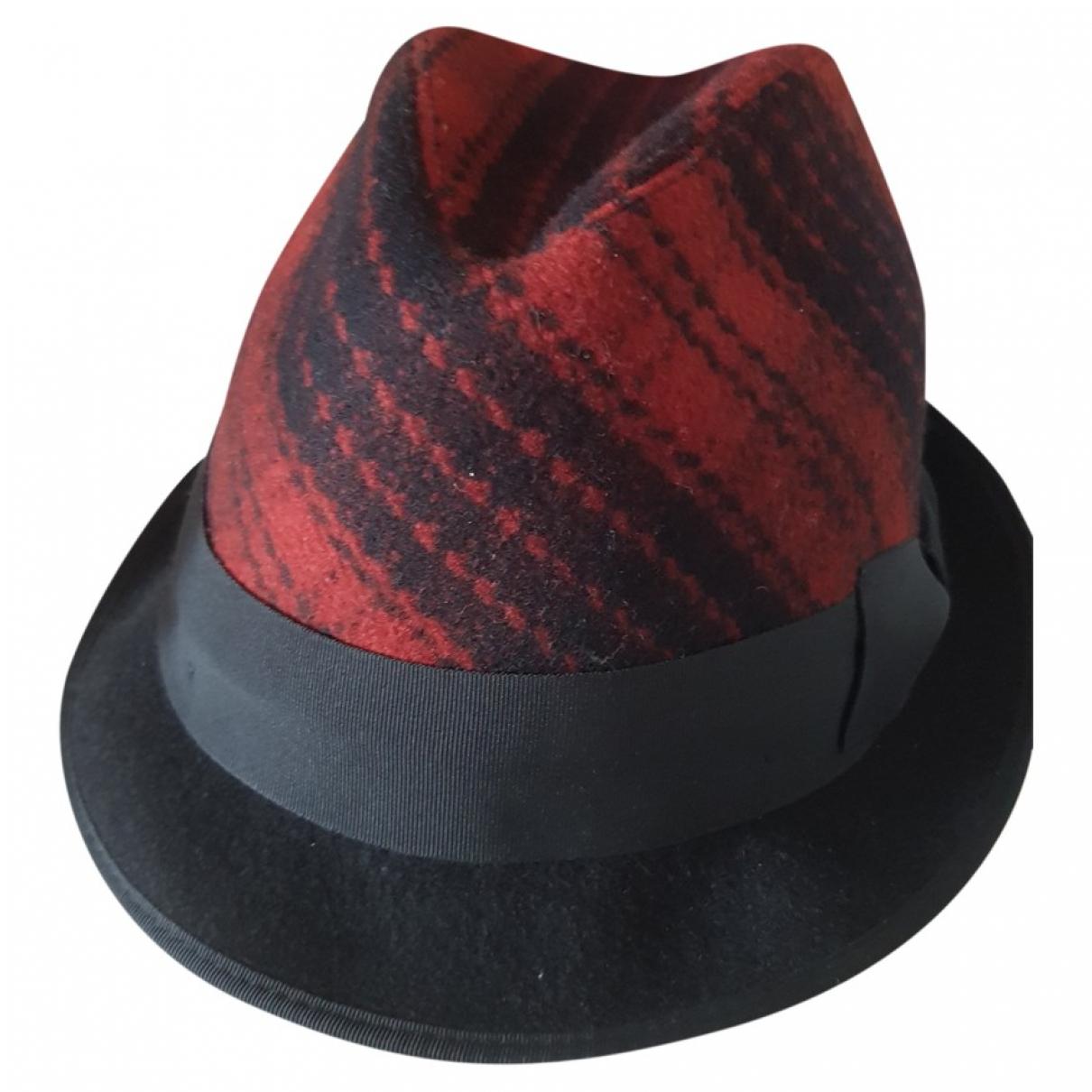 Dolce & Gabbana \N Hut in  Rot Wolle