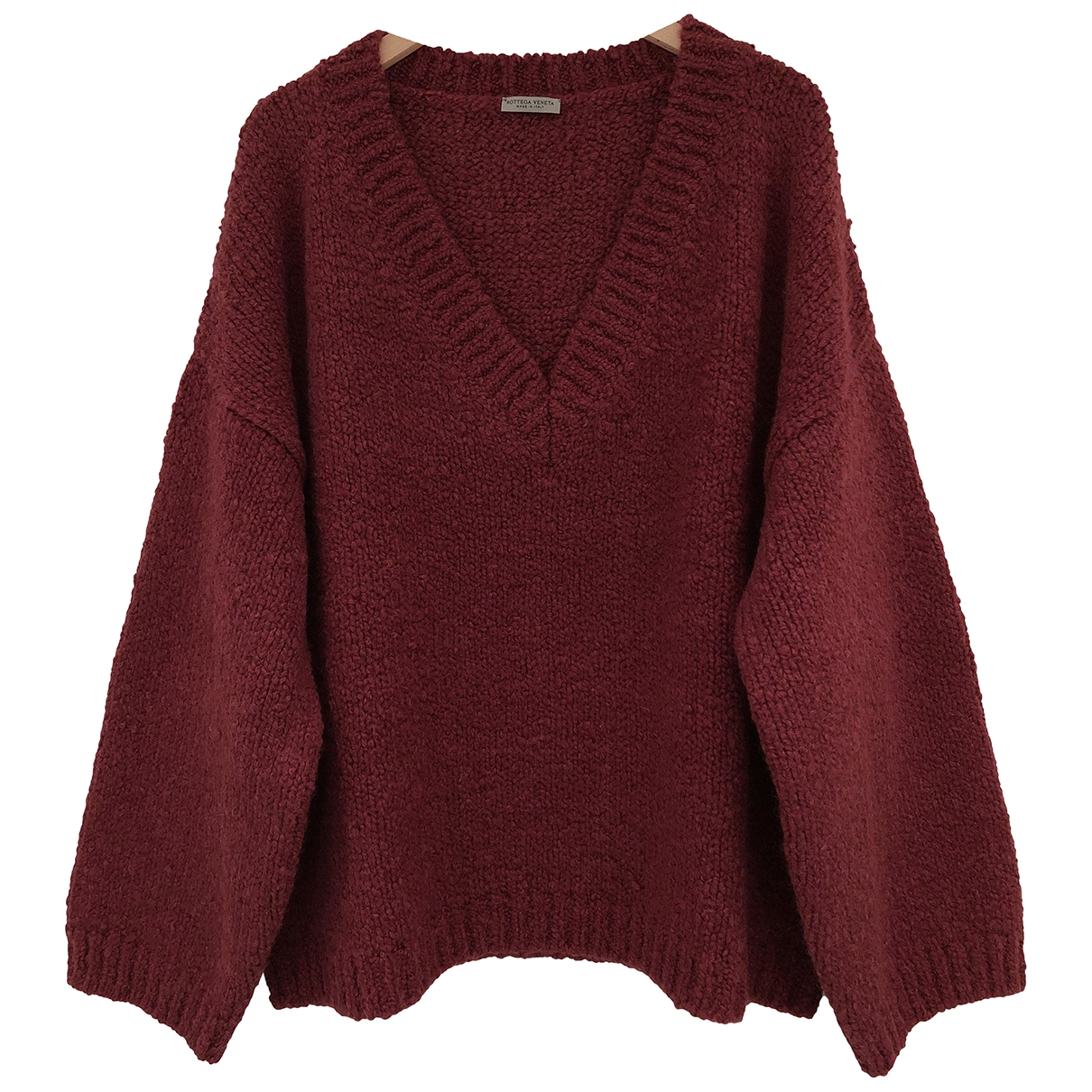 Bottega Veneta \N Red Wool Knitwear for Women 46 IT