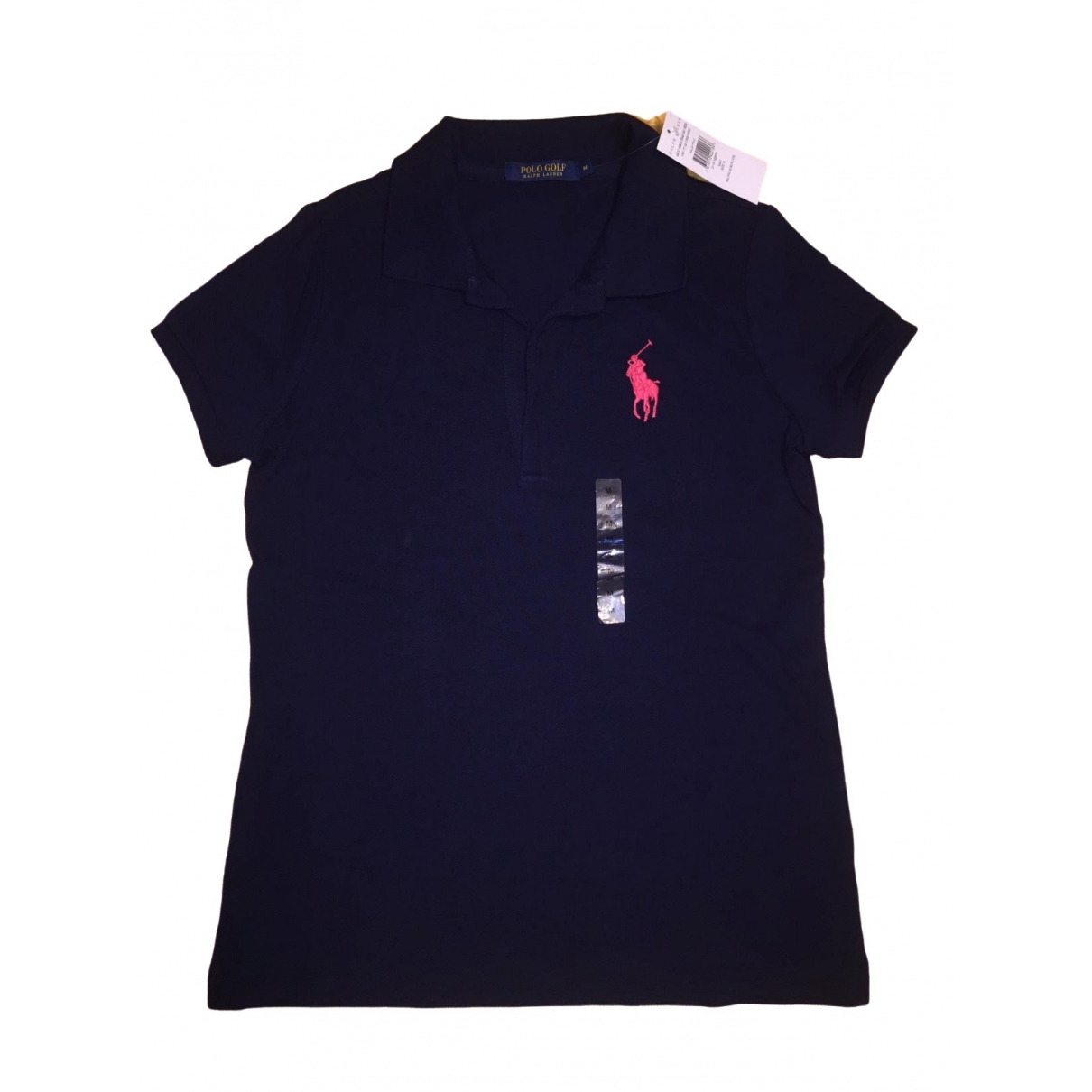 Non Signé / Unsigned \N Navy Cotton  top for Women M International