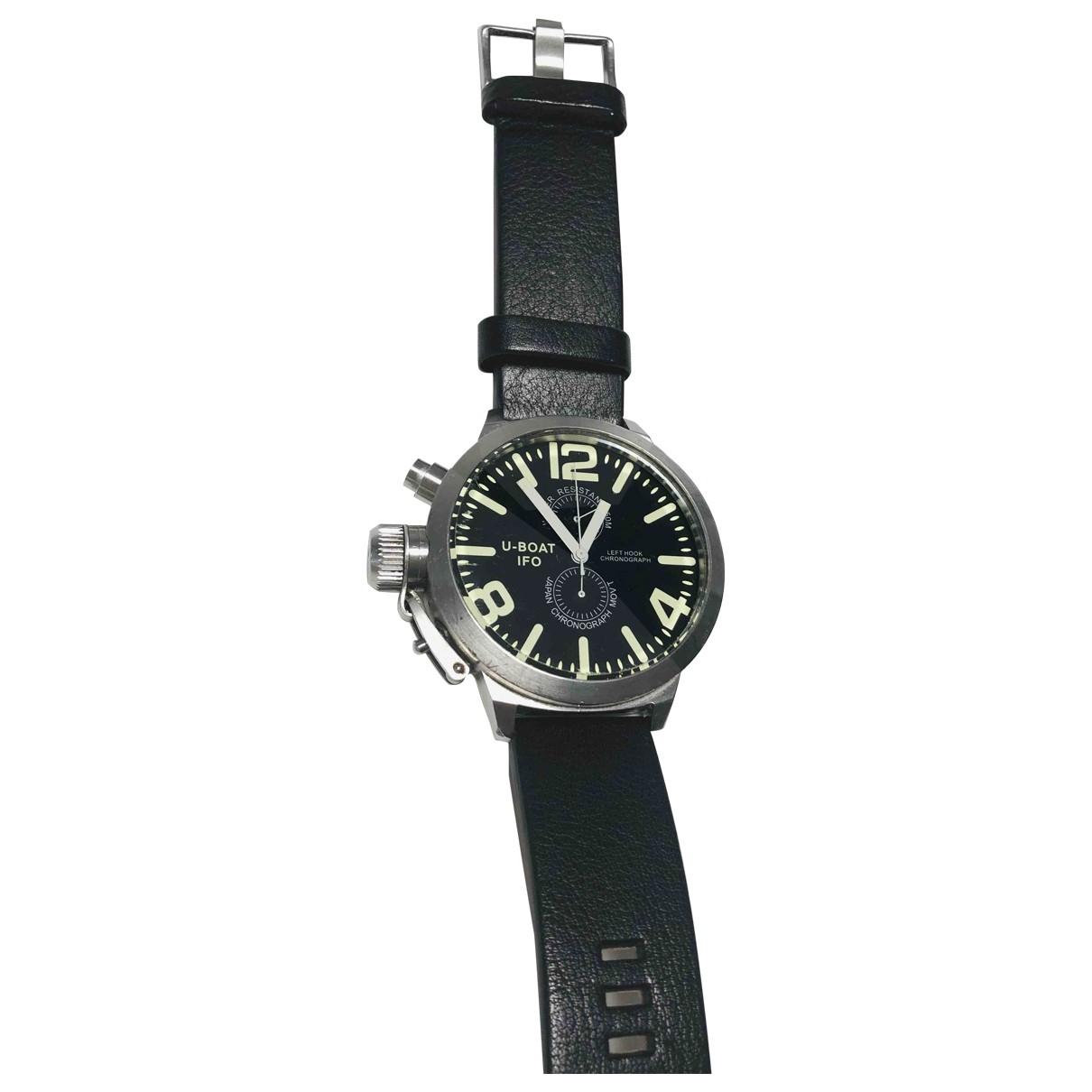 U-boat - Montre   pour homme en acier - noir