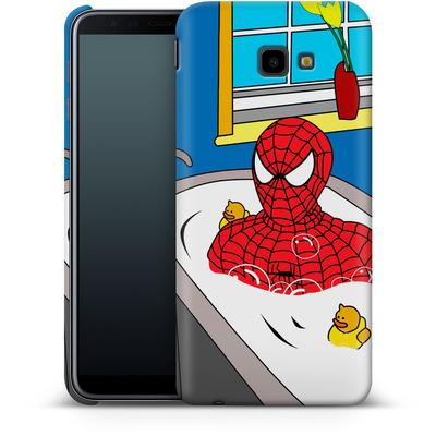 Samsung Galaxy J4 Plus Smartphone Huelle - Bathing Hero von Mark Ashkenazi