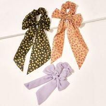 3 Paare Schal mit Blumen Muster 3 Paare Schal mit Blumen Muster