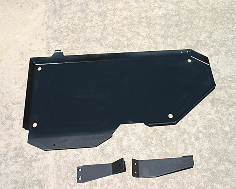 ShrockWorks NXTR2-SKID-GAS-01A Gas Tank Skid Plate Nissan Frontier | Xterra 05-14