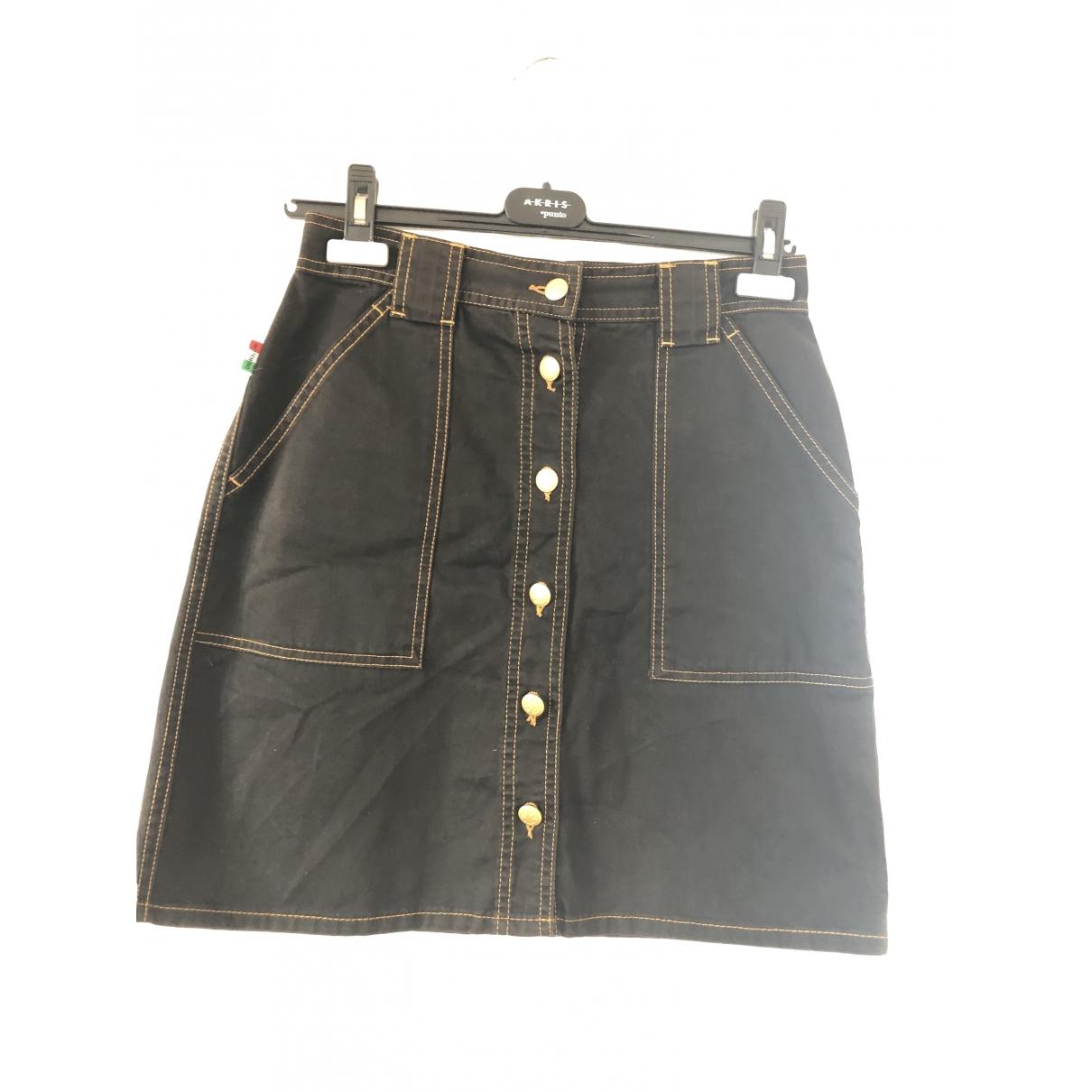 Moschino Cheap And Chic - Jupe   pour femme en coton - marron