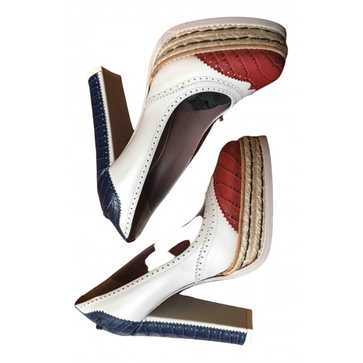 Tommy Hilfiger \N Leather Heels for Women 38 IT