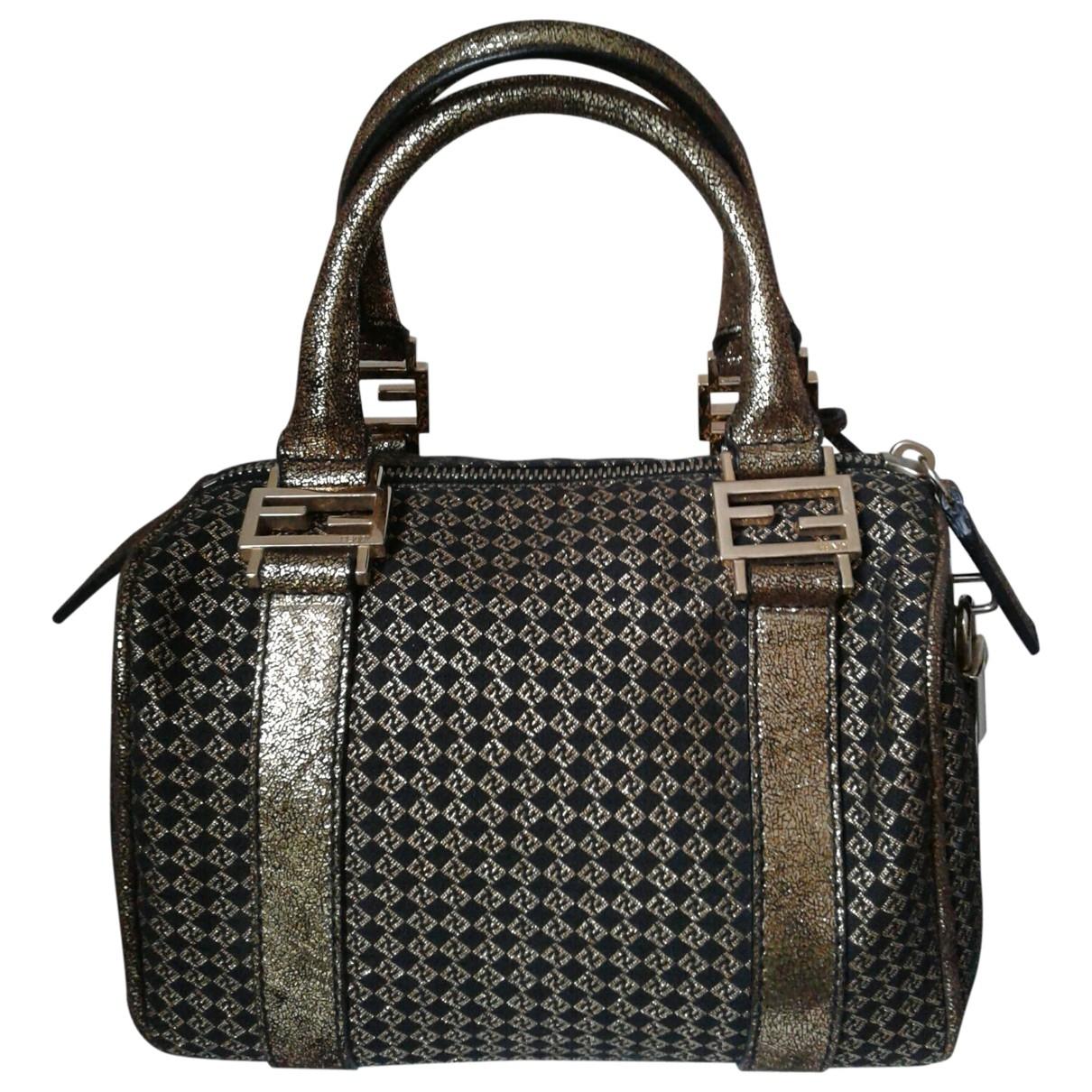 Fendi \N Gold Cloth handbag for Women \N