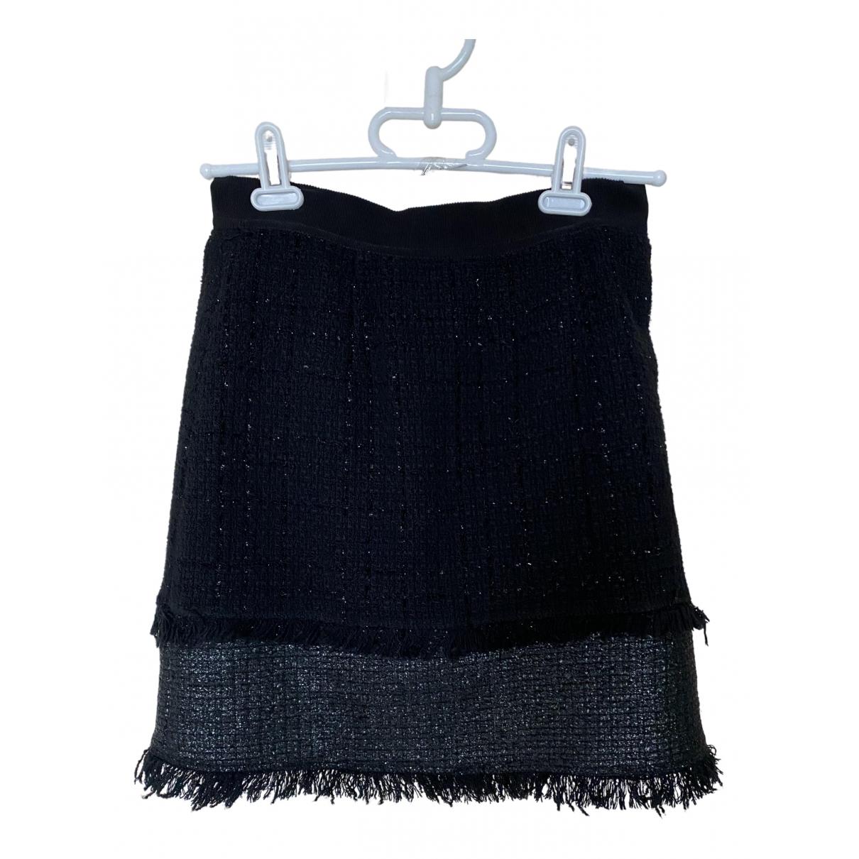 Pinko - Jupe   pour femme en coton - noir