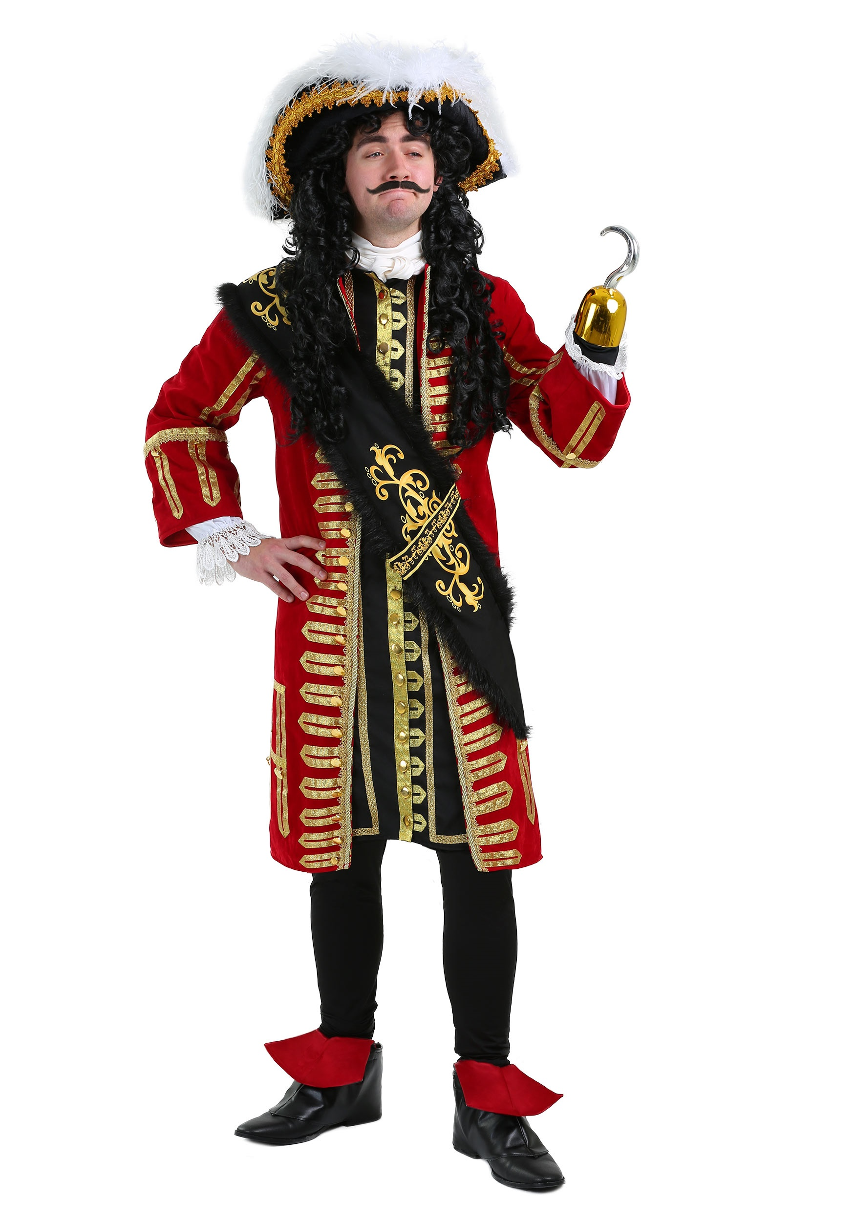 Elite Captain Hook Costume for Men