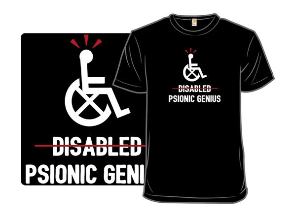 Psionic Genius T Shirt