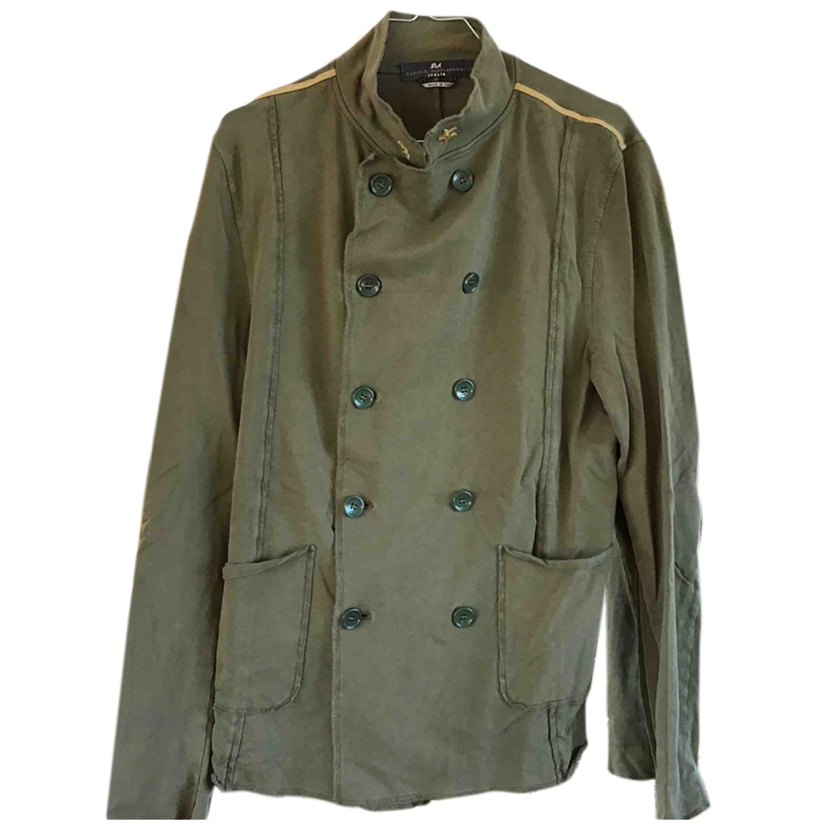 Daniele Alessandrini N Green Cotton jacket  for Men M International