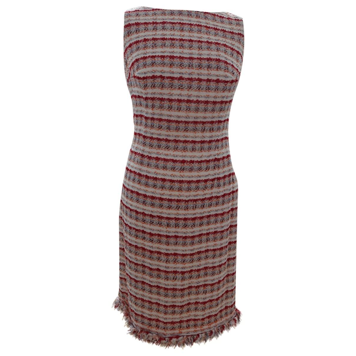 Carolina Herrera \N Red Cotton dress for Women 6 US