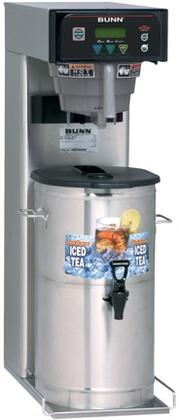 41400.0000 ITB-DBC Iced Tea Brewer With Quickbrew Funnel Tip  SplashGard  Energy-Saver Mode  in Stainless