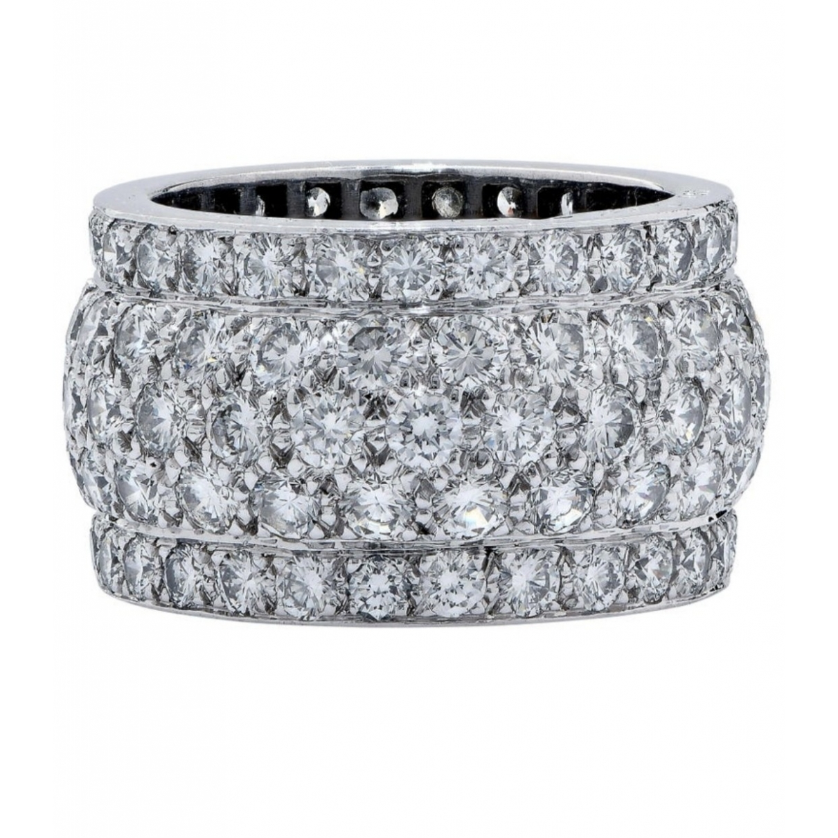 Cartier Nigéria White White gold ring for Women 52 MM