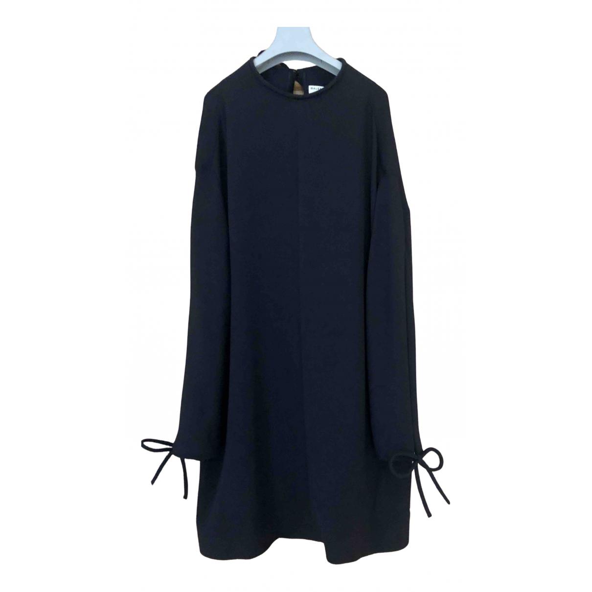 Balenciaga N Black Silk dress for Women M International
