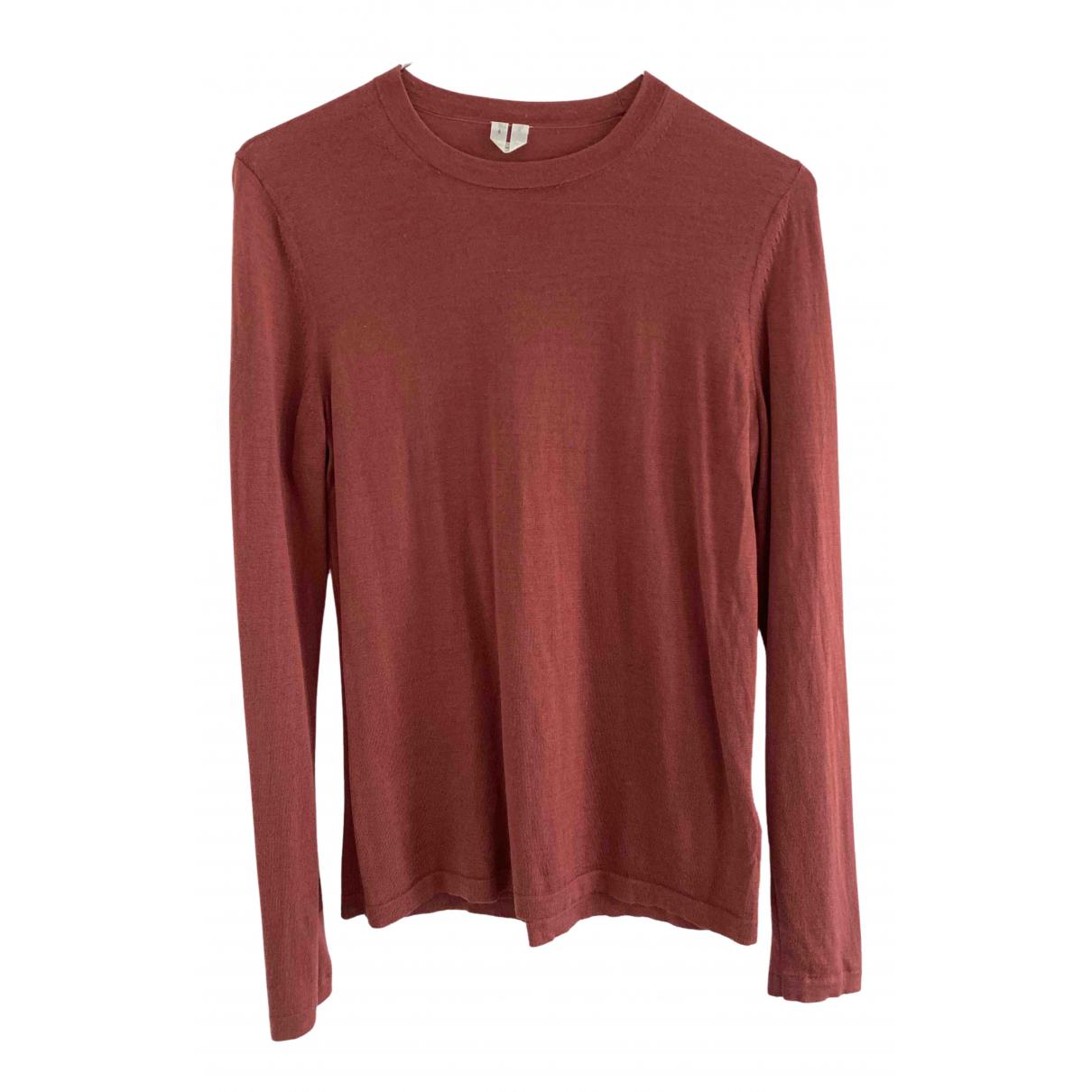 Arket - Pull   pour femme en laine - rose