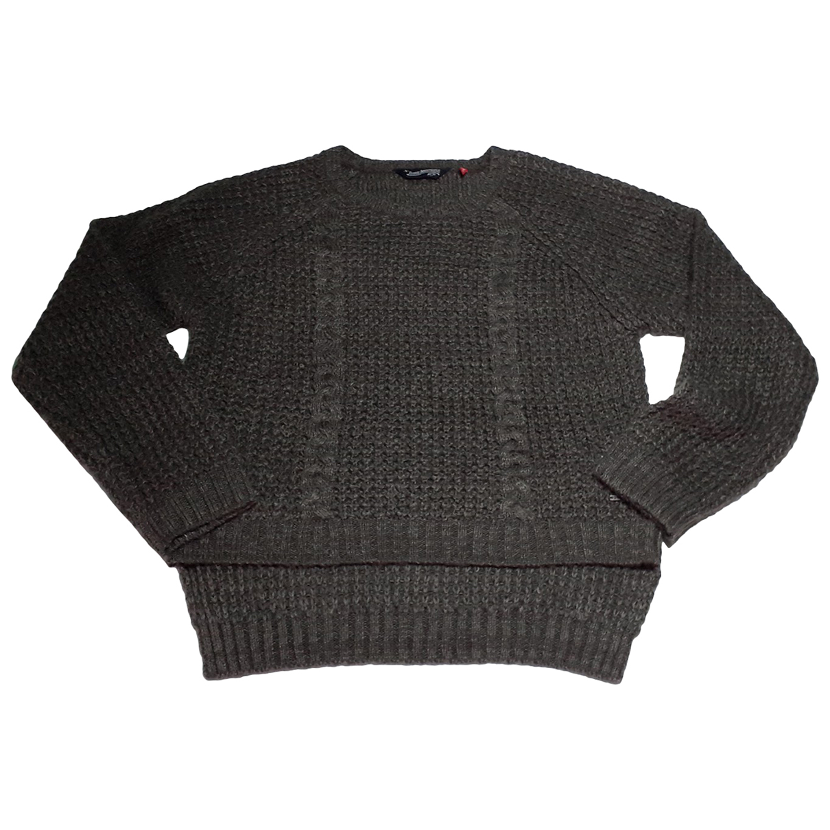 Non Signé / Unsigned N Brown Knitwear for Women XS International