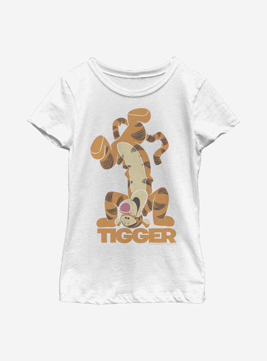 Disney Winnie The Pooh Tigger Bounce Youth Girls T-Shirt