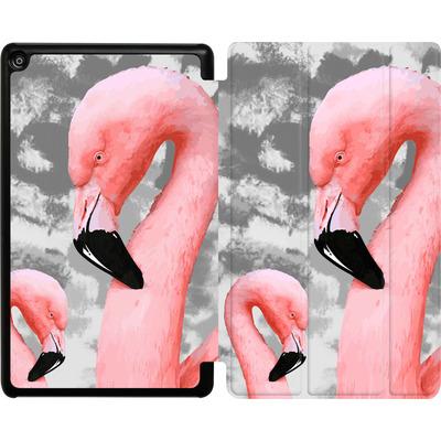 Amazon Fire HD 8 (2018) Tablet Smart Case - Flamingo Grey von Mukta Lata Barua