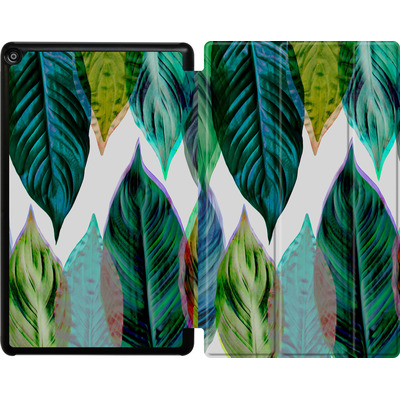 Amazon Fire HD 10 (2017) Tablet Smart Case - Green Leaves von Mareike Bohmer
