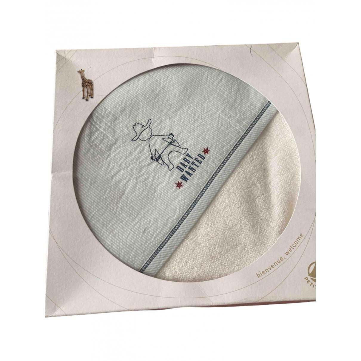 Petit Bateau - Linge de maison   pour lifestyle en coton - blanc