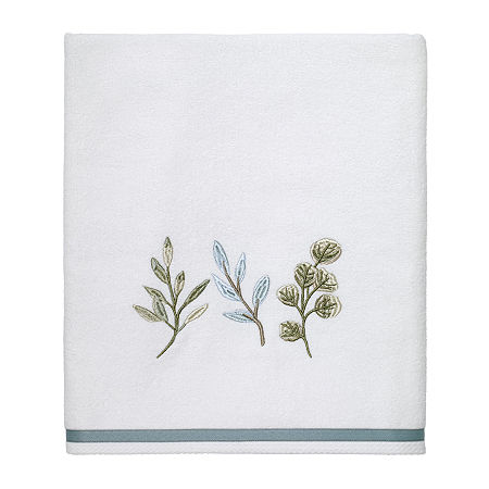 Avanti Ombre Leaves Bath Towel, One Size , Beige