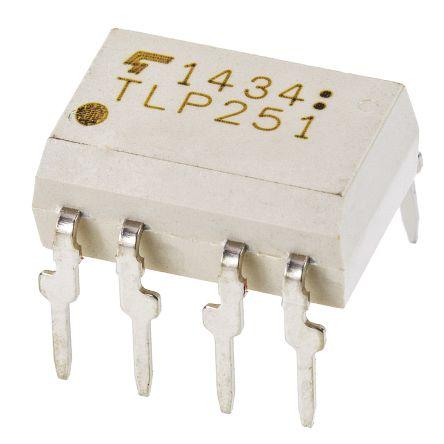 Toshiba , TLP2200(F) AC Input IC Output Optocoupler, Through Hole, 8-Pin DIP (2)