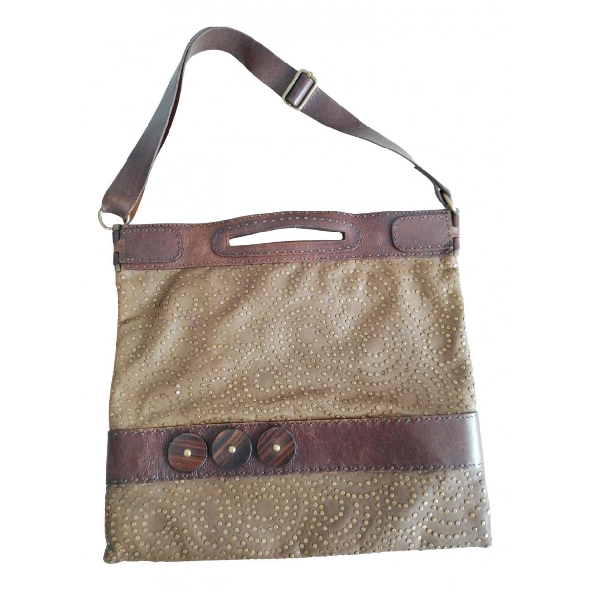Jamin Puech \N Handtasche in  Braun Leder