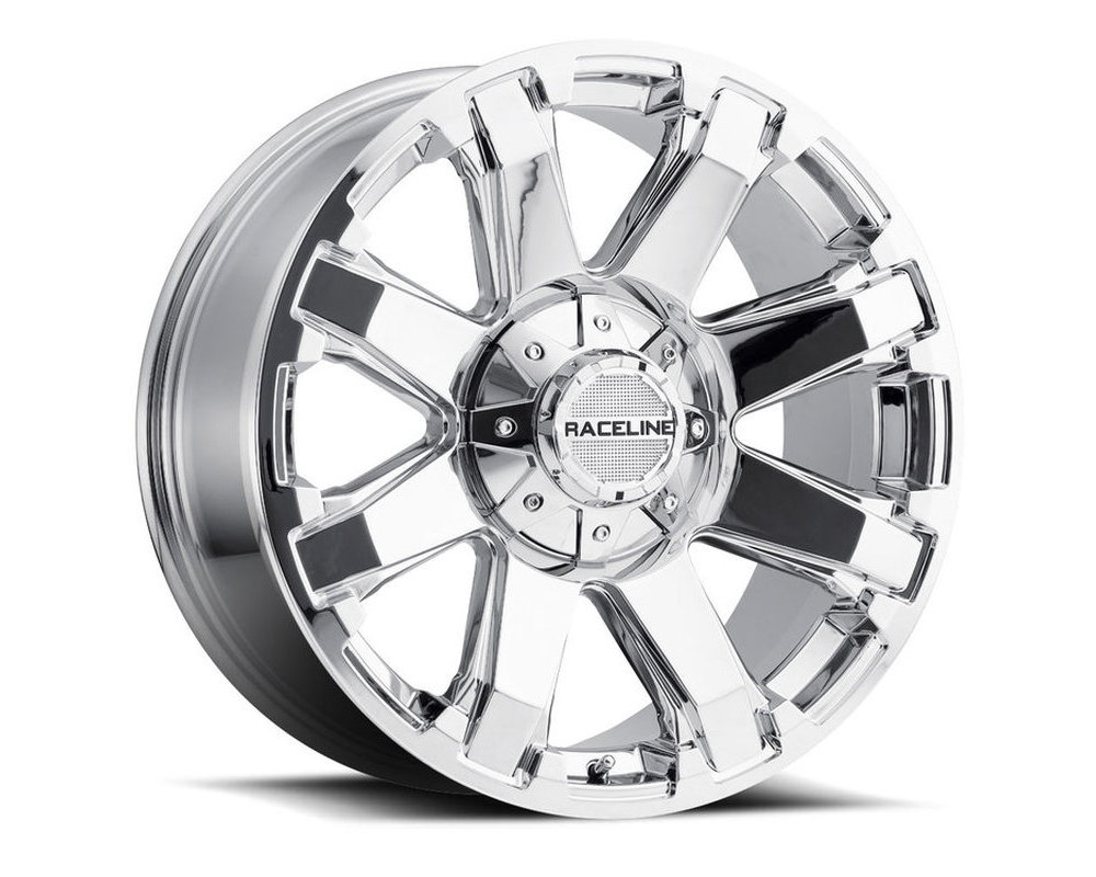 Raceline 936C Throttle Chrome Wheel 20X9 5X150|5X139.7 0mm