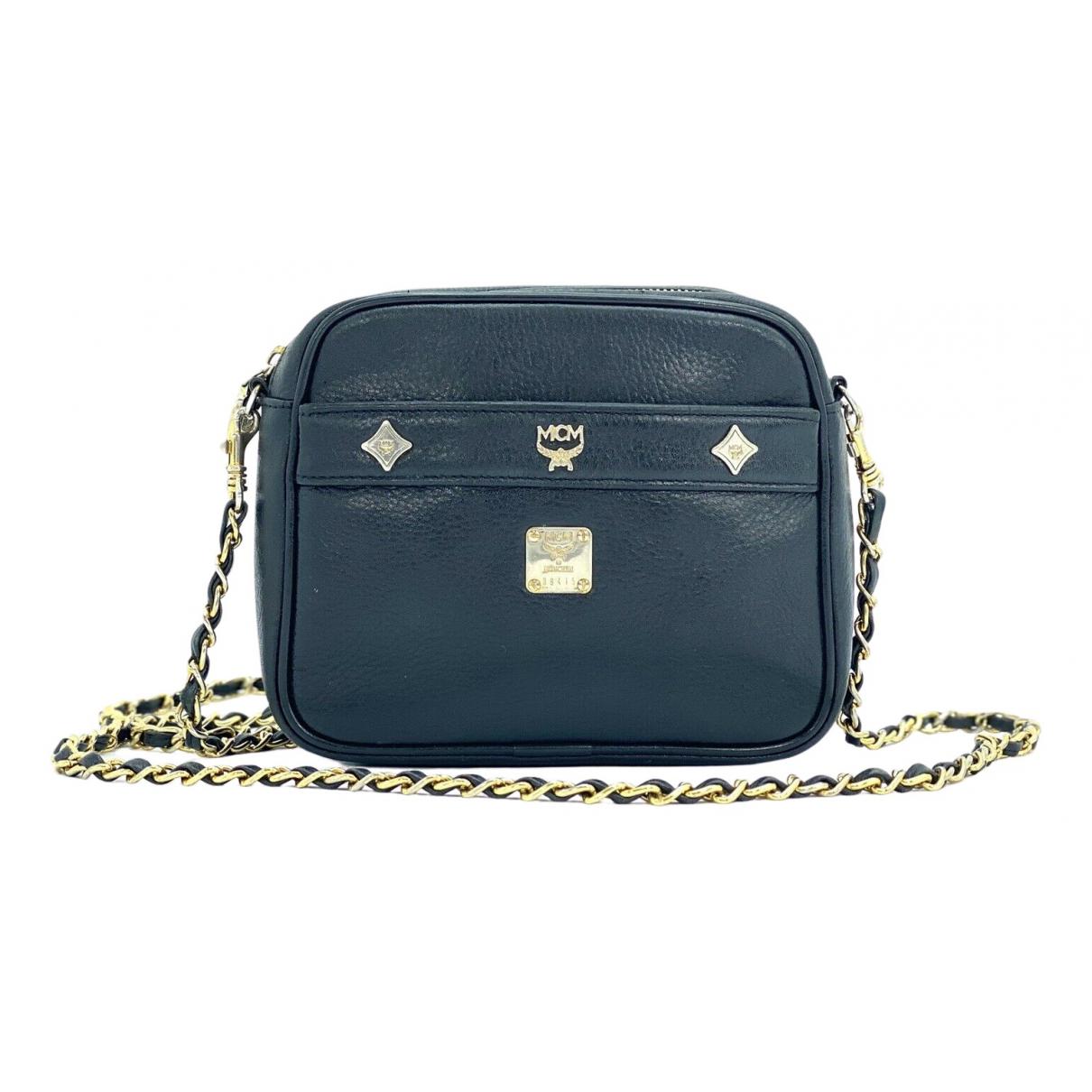Mcm \N Black Cloth handbag for Women \N