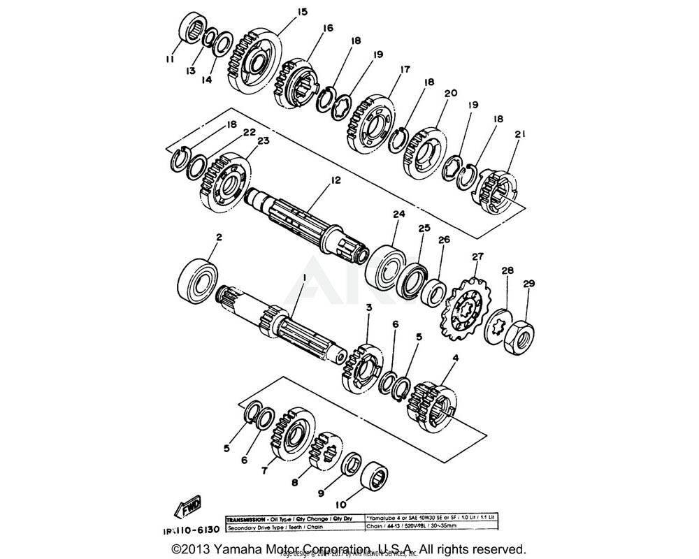Yamaha OEM 90209-22082-00 WASHER (T=0.5)