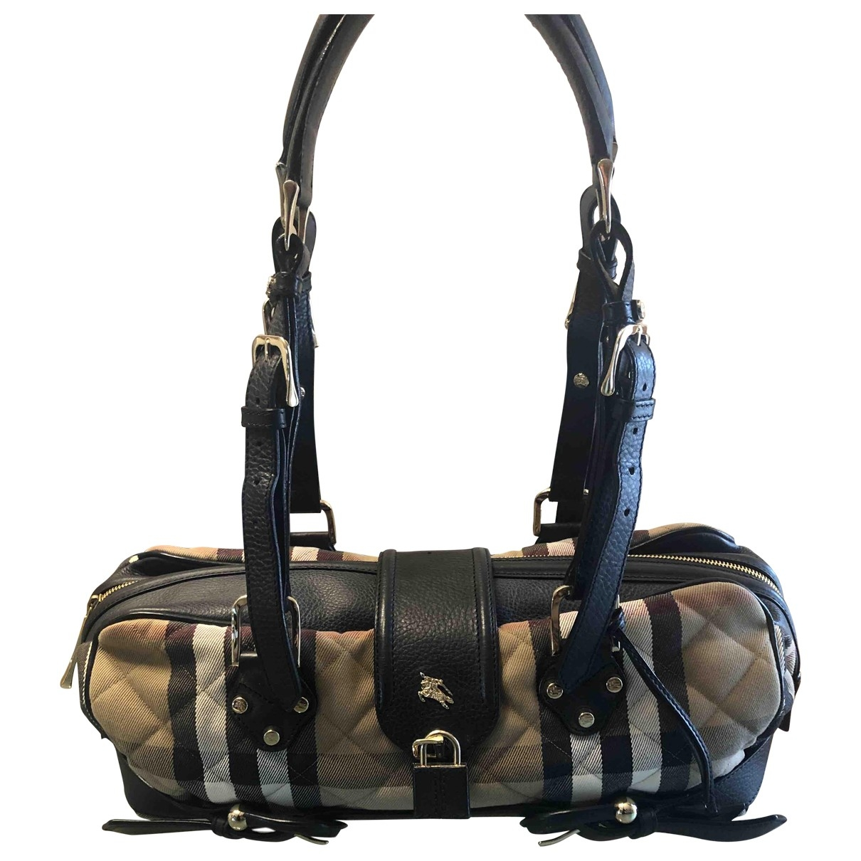 Burberry \N Black Cloth handbag for Women \N