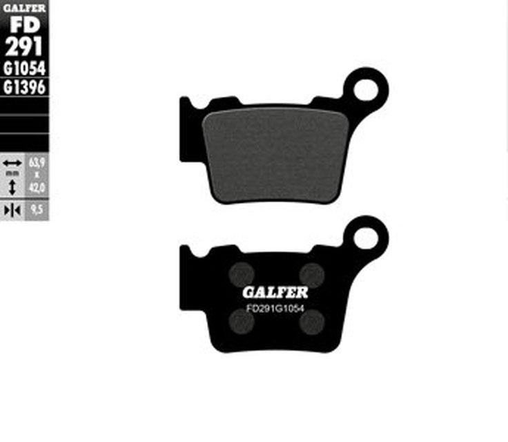 Galfer Rear Brake Pads HUSABERG 125 TE