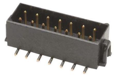 HARWIN , Datamate L-Tek, 4 Way, 2 Row, Straight PCB Header