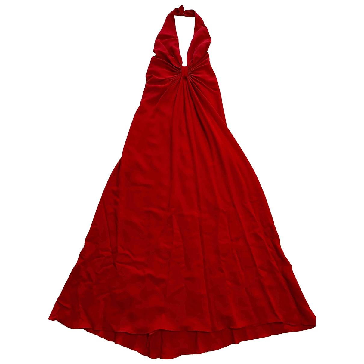 Valentino Garavani \N Kleid in  Rot Polyester