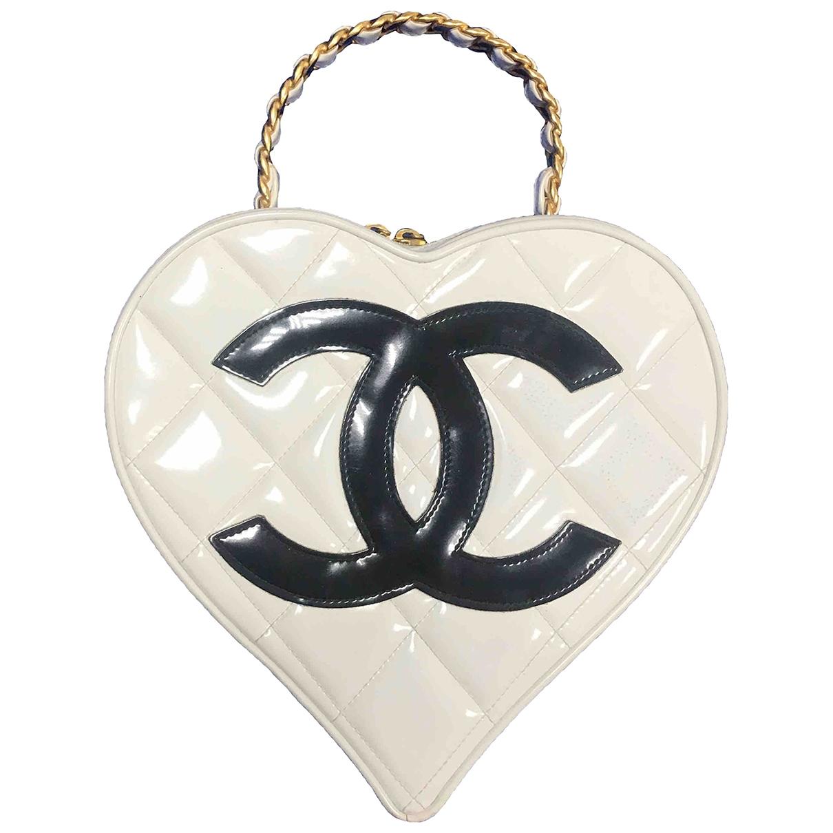 Chanel \N White Patent leather handbag for Women \N
