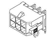 Molex , Micro-Fit 3.0, 43045, 24 Way, 2 Row, Right Angle PCB Header (576)