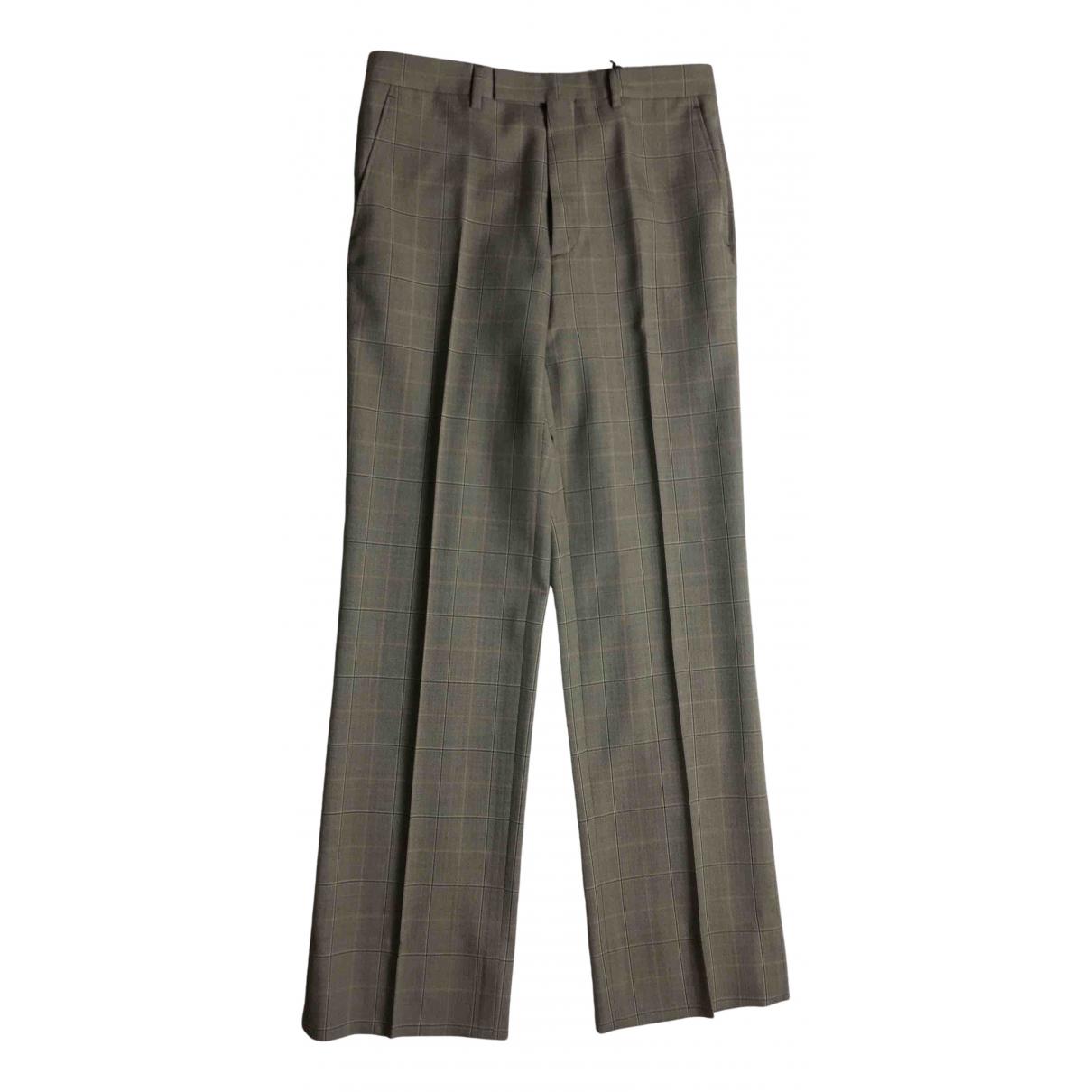 Pantalon de Lana Gucci