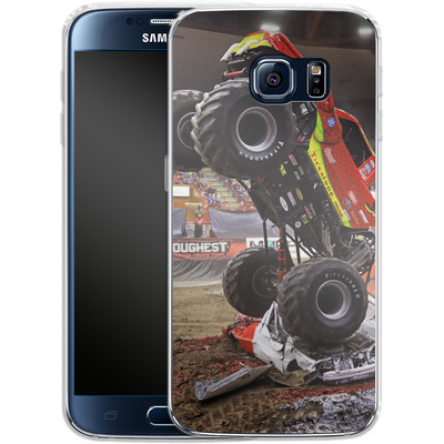 Samsung Galaxy S6 Silikon Handyhuelle - Snake Bite 2 von Bigfoot 4x4