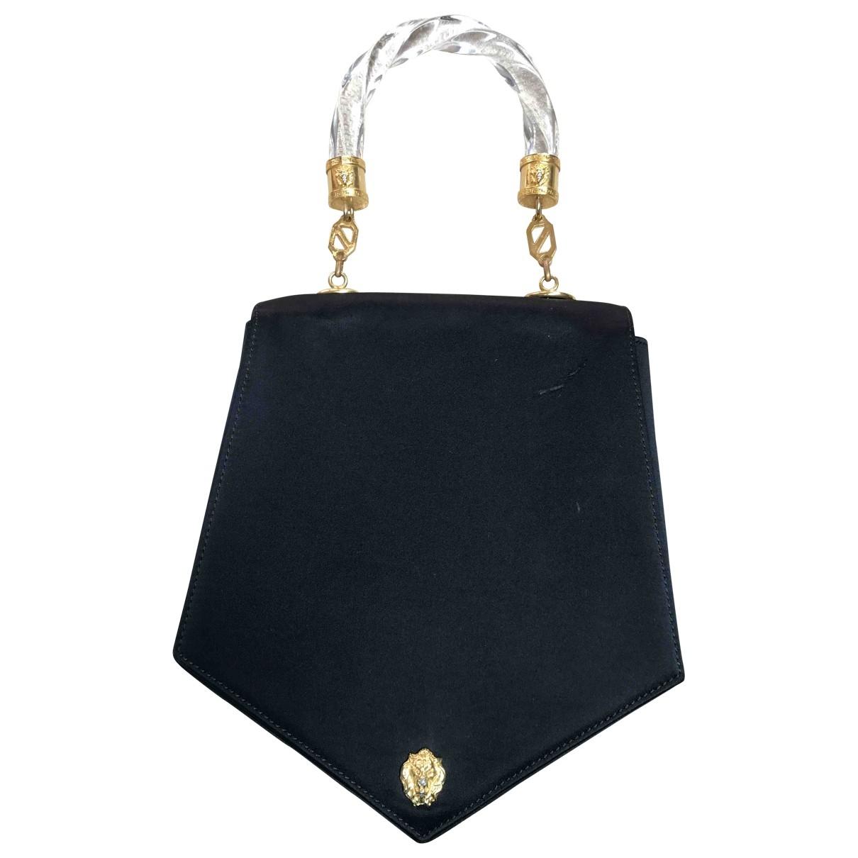 Versus \N Handtasche in  Schwarz Leinen