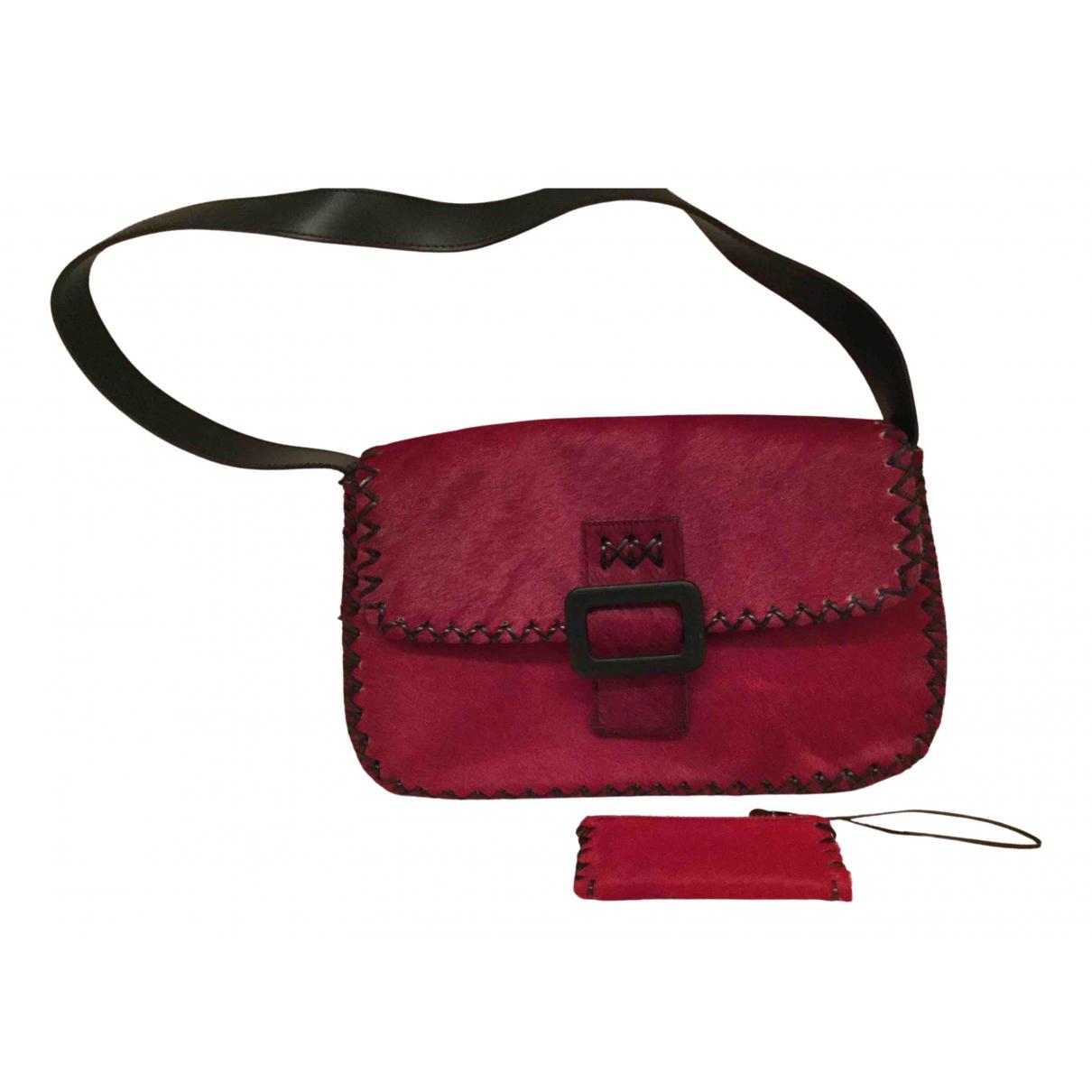 Maliparmi N Red Fur handbag for Women N